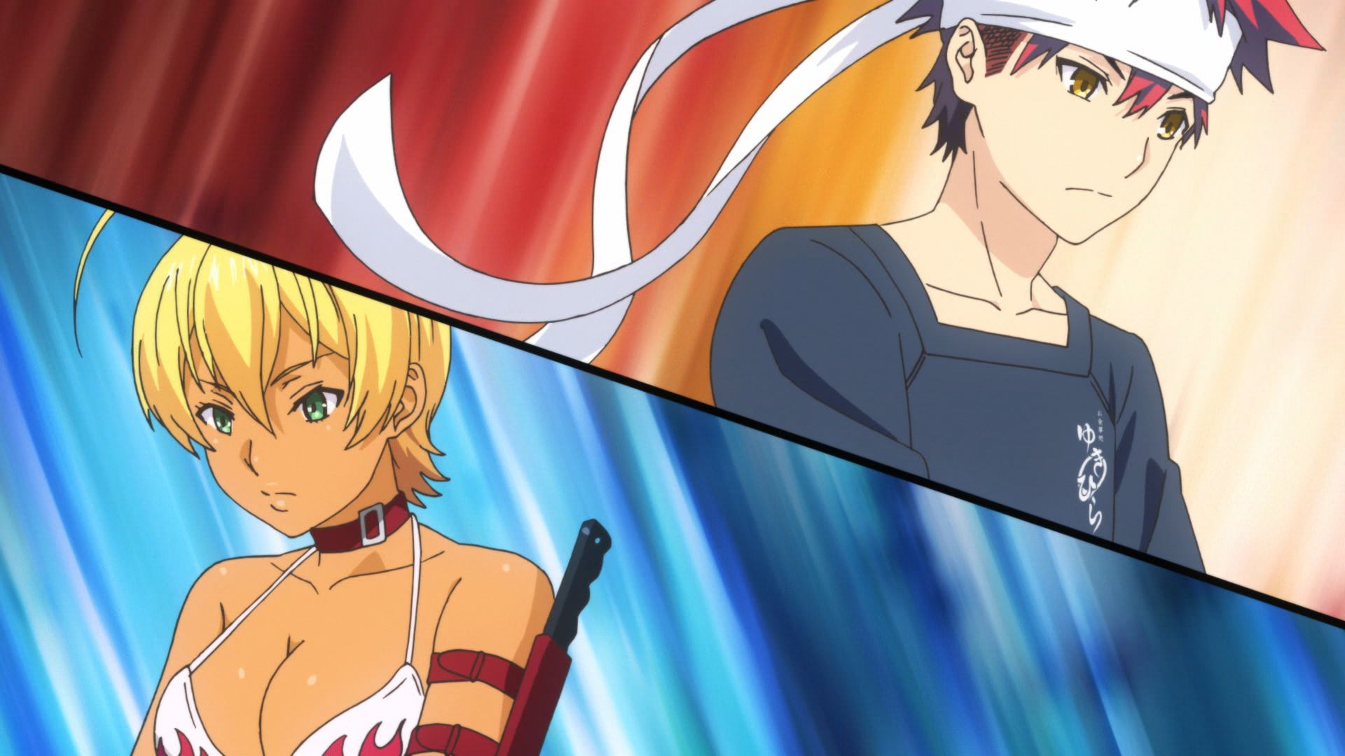 Food Wars Ikumi the silent bowl, the eloquent bowl