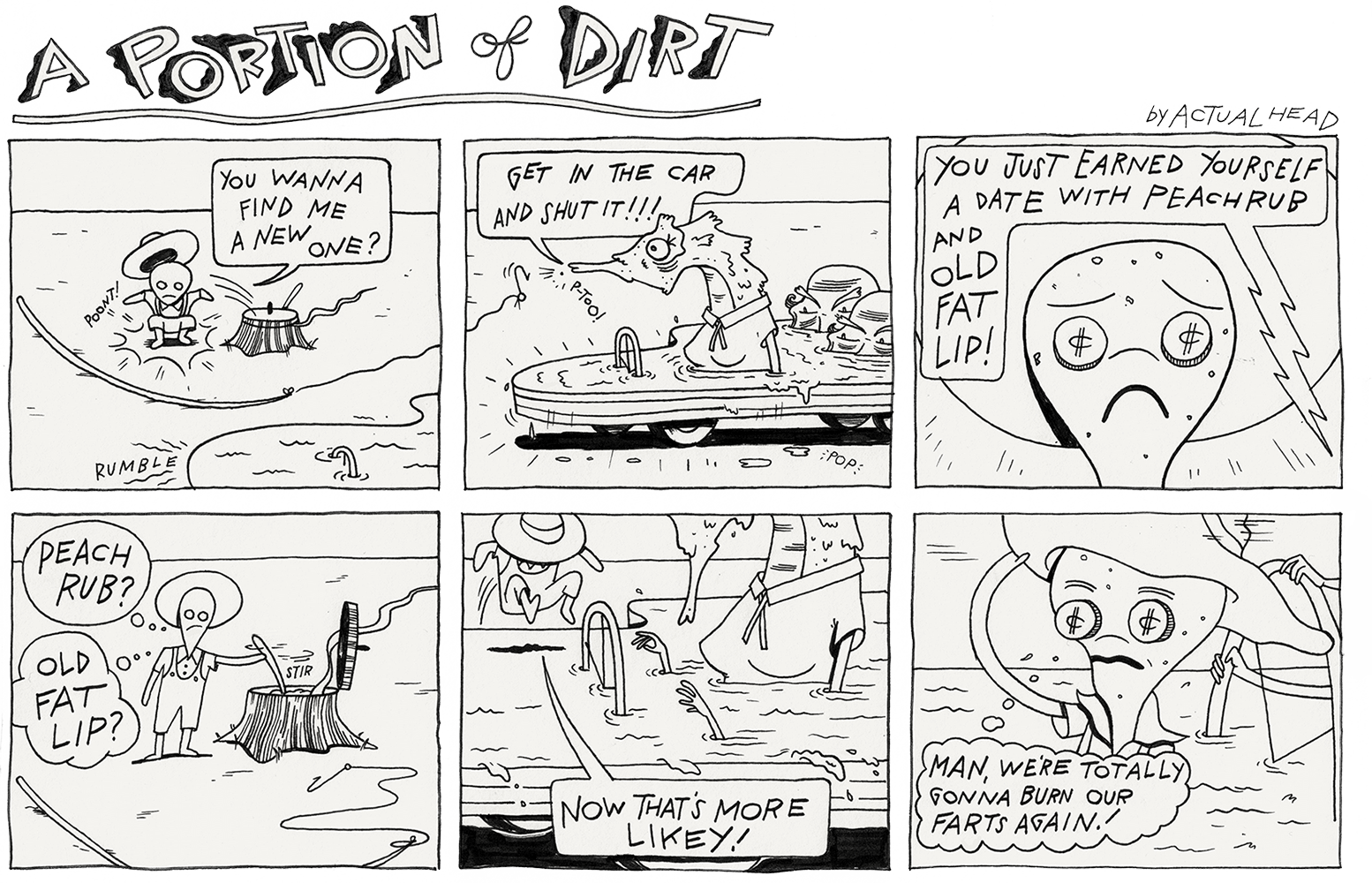 Portion of Dirt by terrence-white