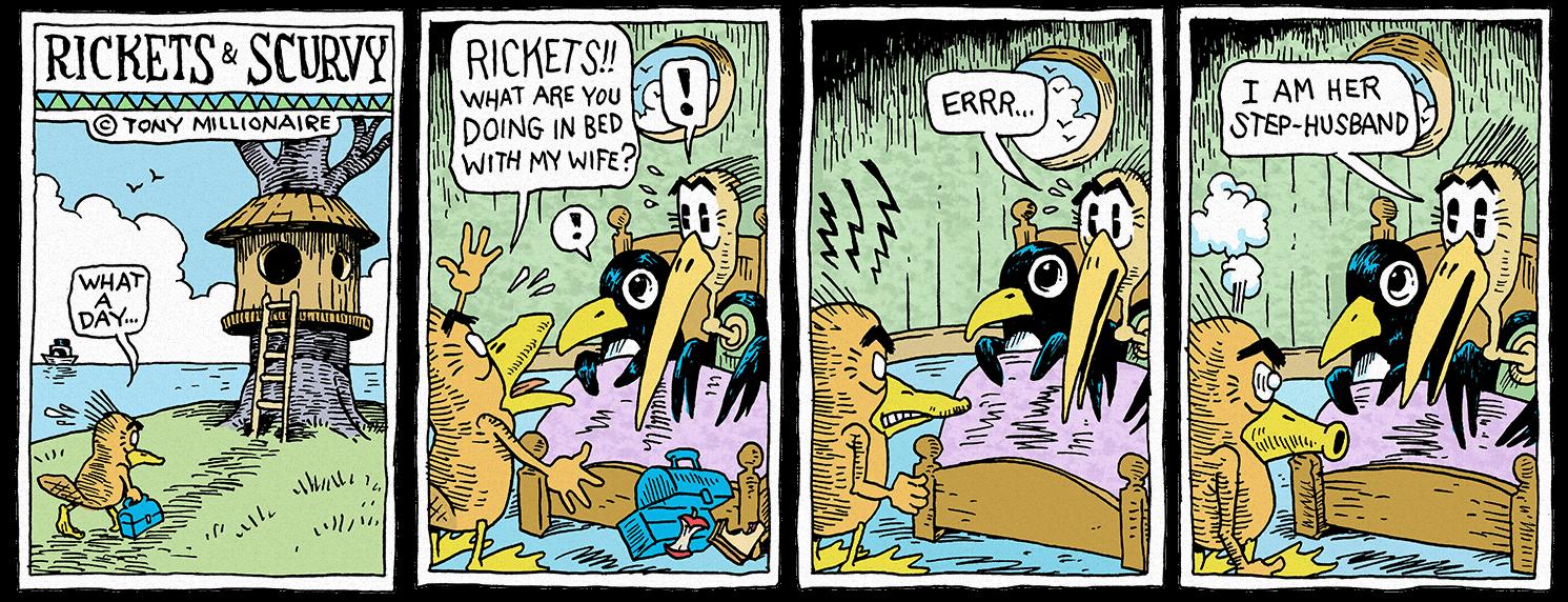 Rickets & Scurvy by tony-millionaire