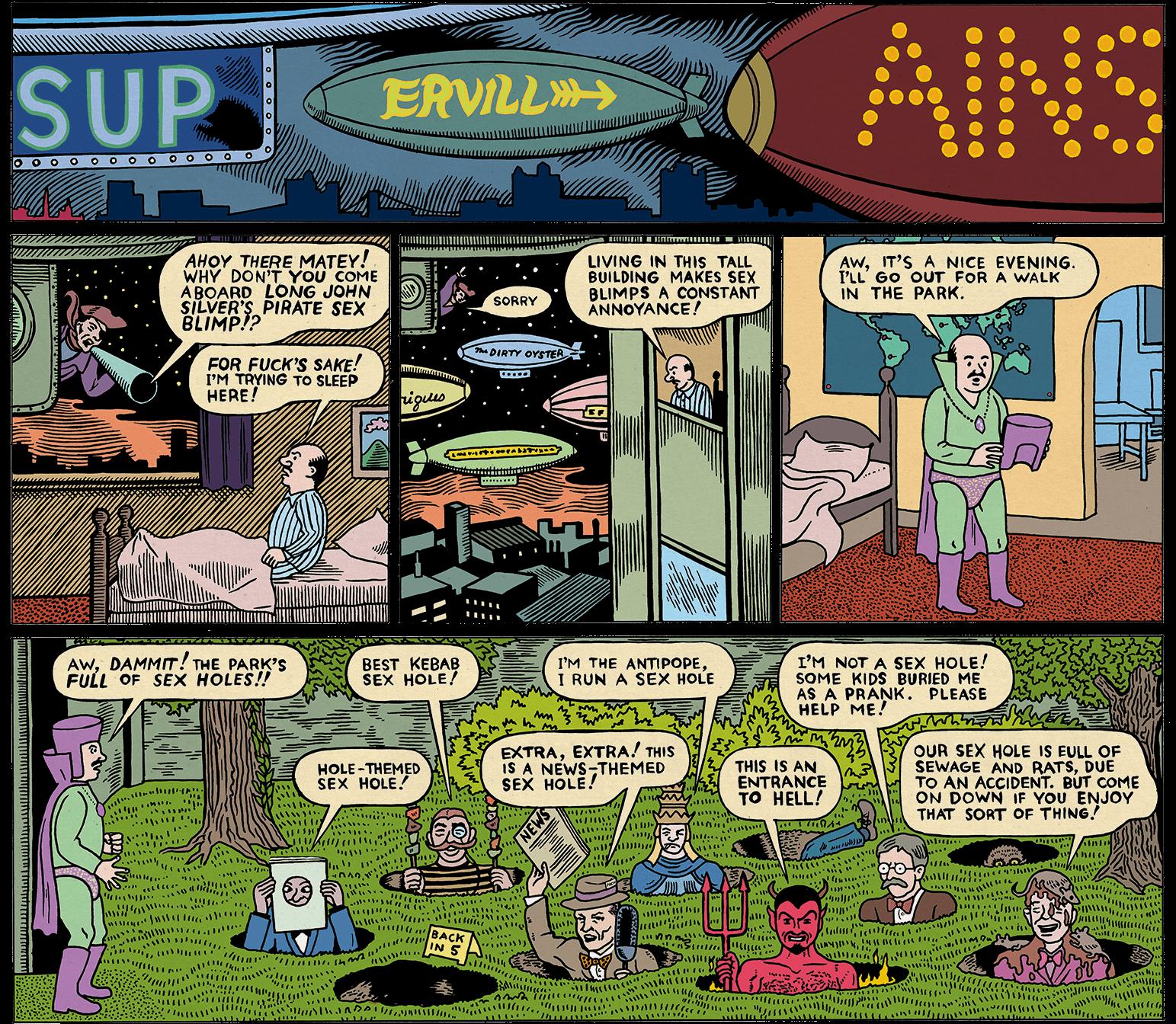 Supervillains by michael-kupperman