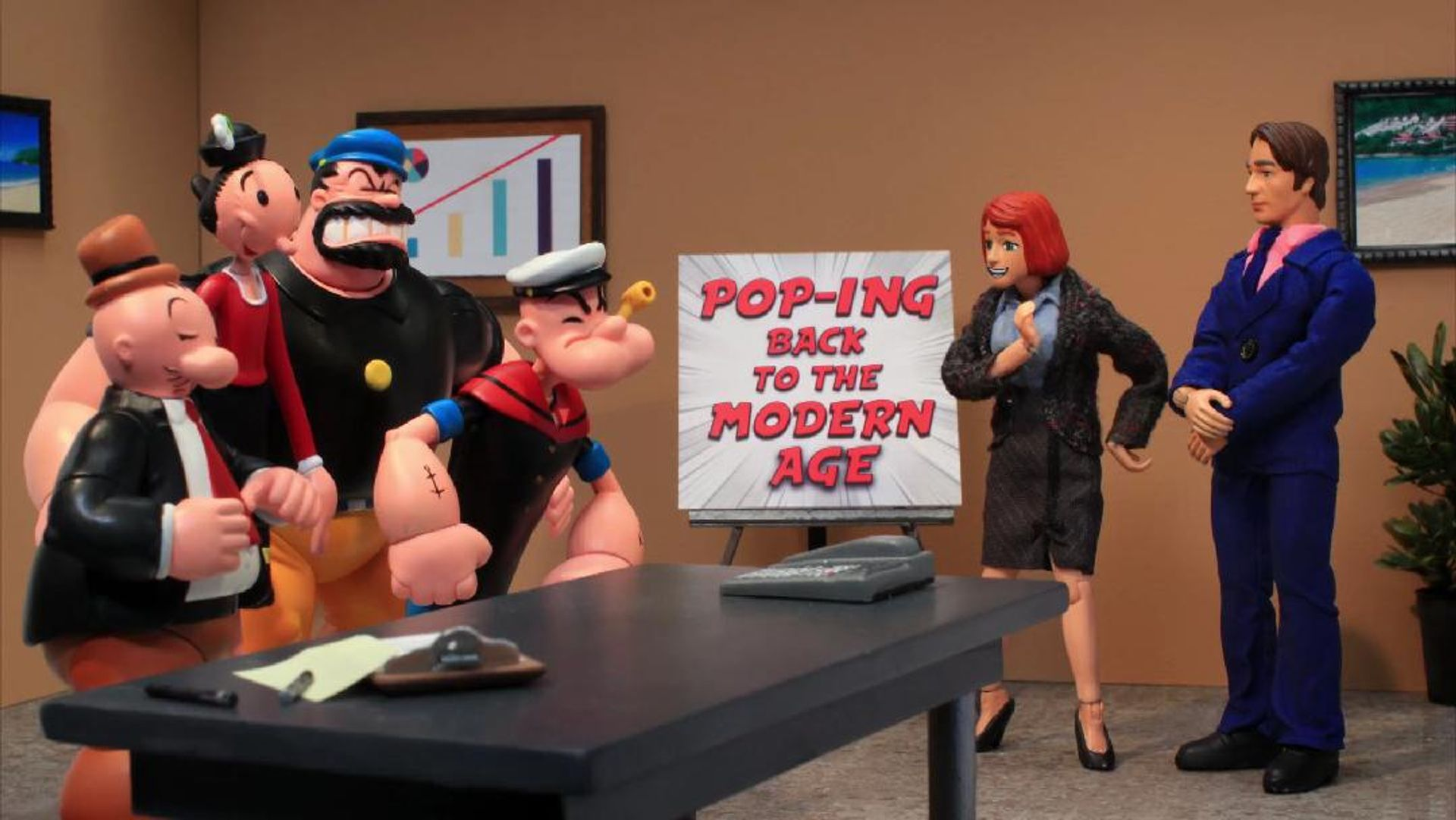 Robot Chicken - Popeye Marketing - Adult Swim -