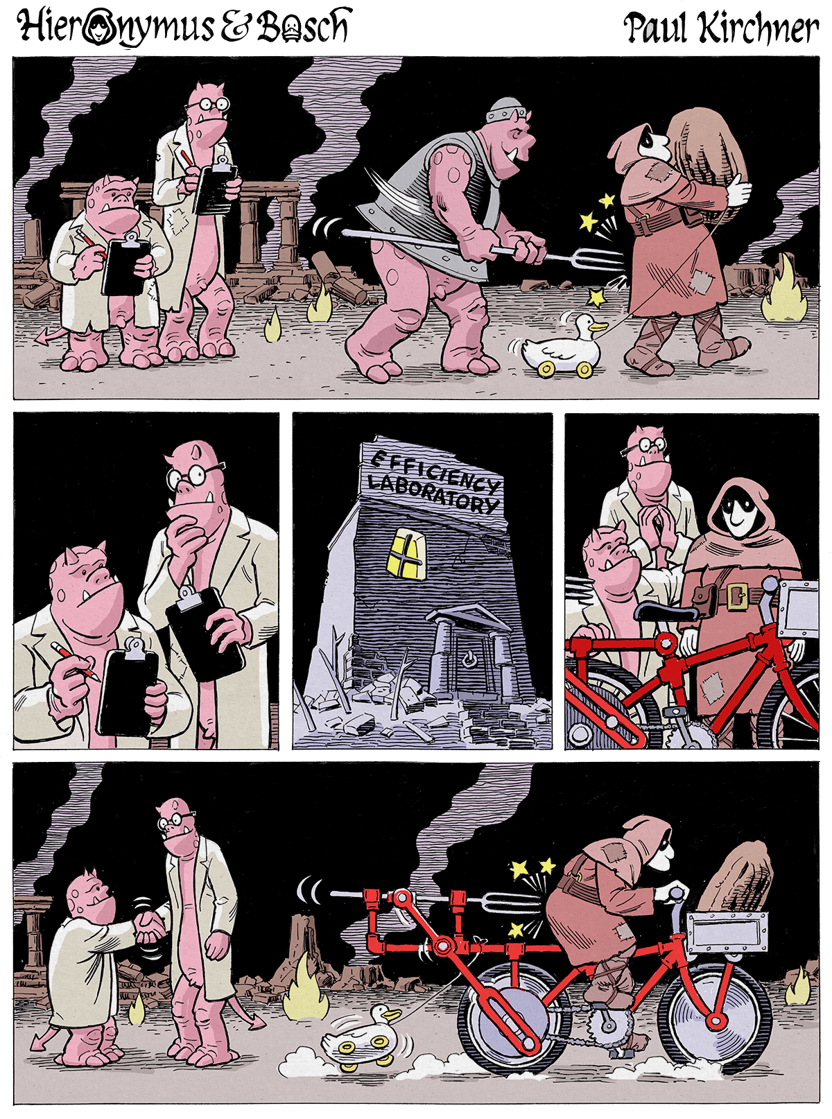 Adult Cartoon Comics adult swim comics - hieronymus & bosch