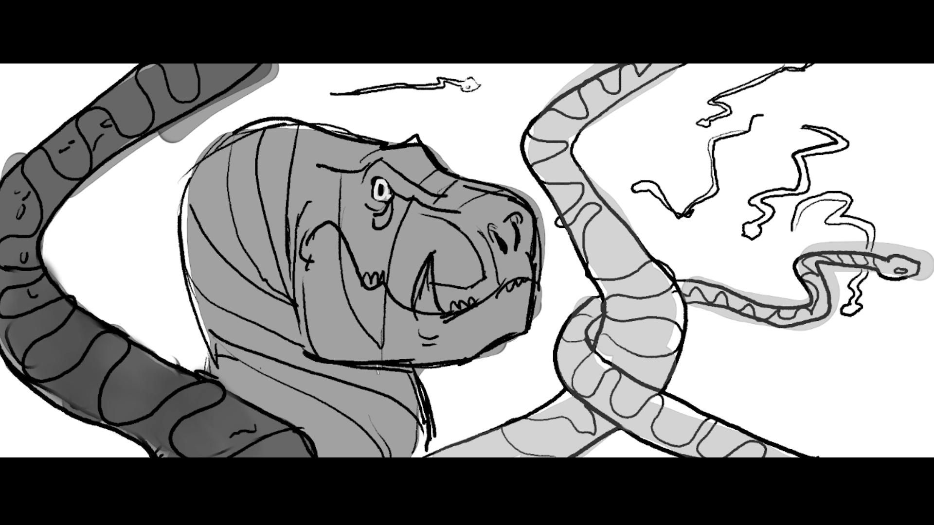 River of Snakes Pitch Animatic