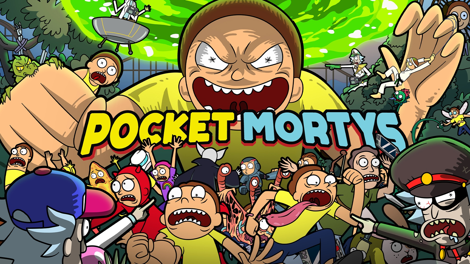 Pocket Mortys Out Now for iOS and Android