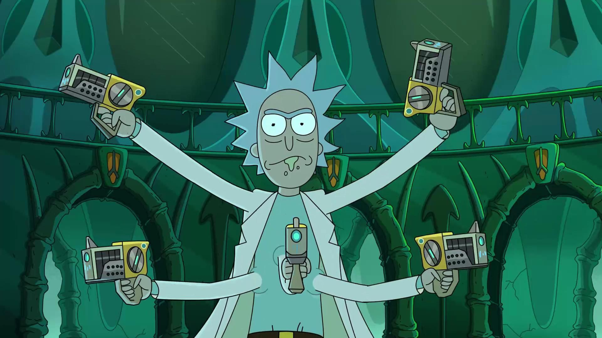 Run The Jewels X Rick And Morty Oh Mama Rick And Morty