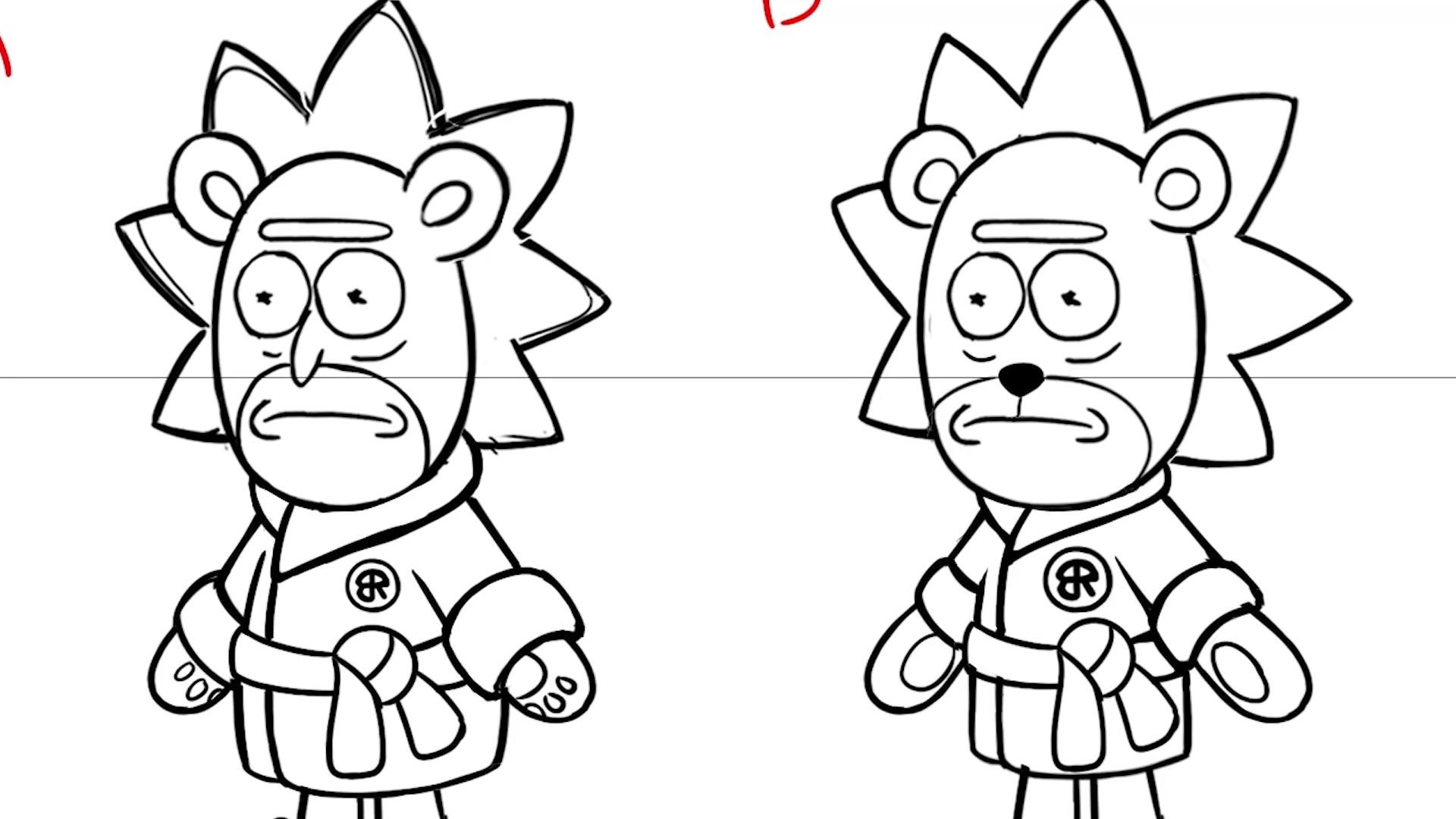 Rick and Morty: Character Creation Secrets