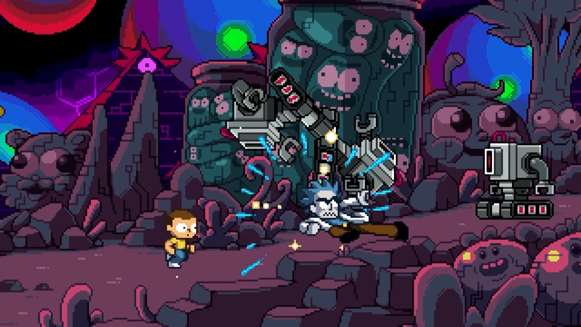Rick + Morty In The Eternal Nightmare Machine