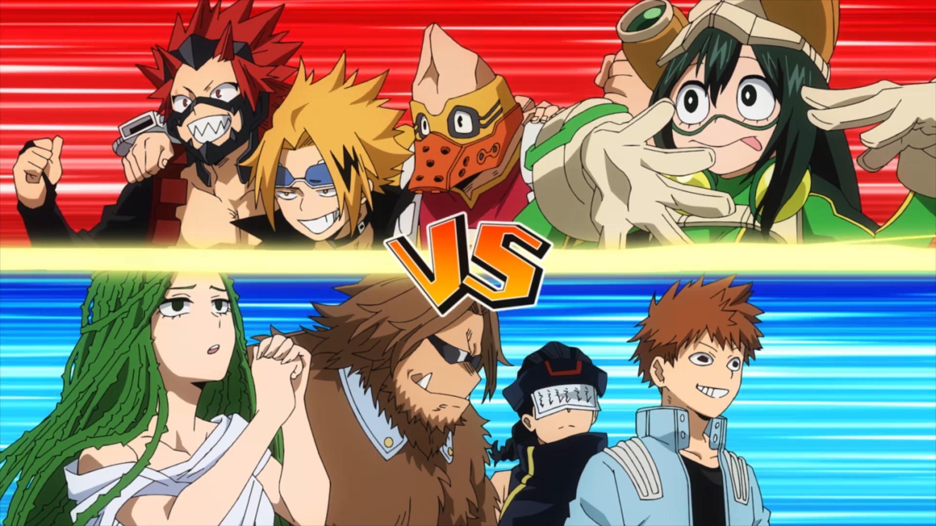 My Hero Academia Sneak Peek: Clash! Class A vs. Class B!