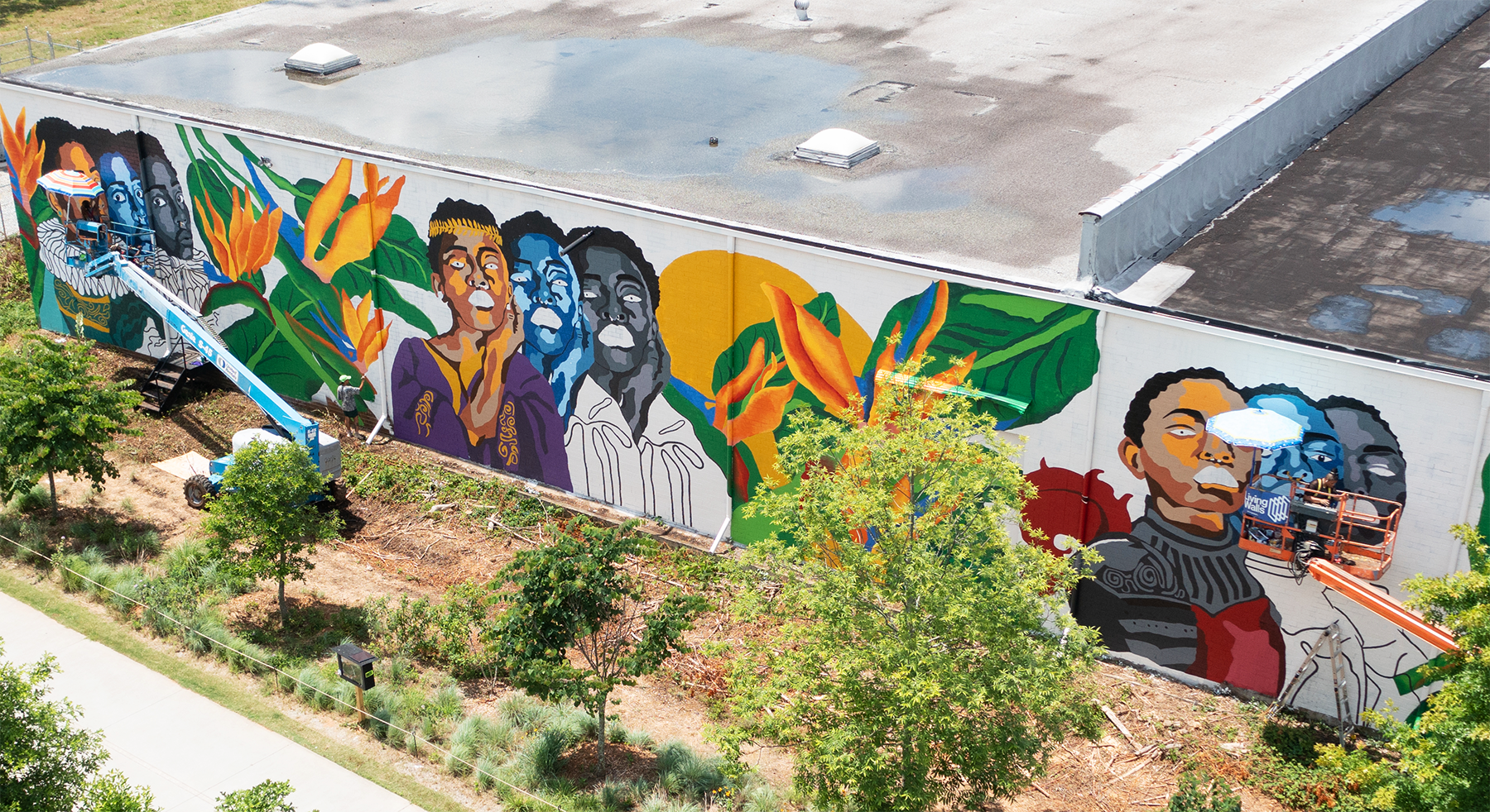 picture of mural