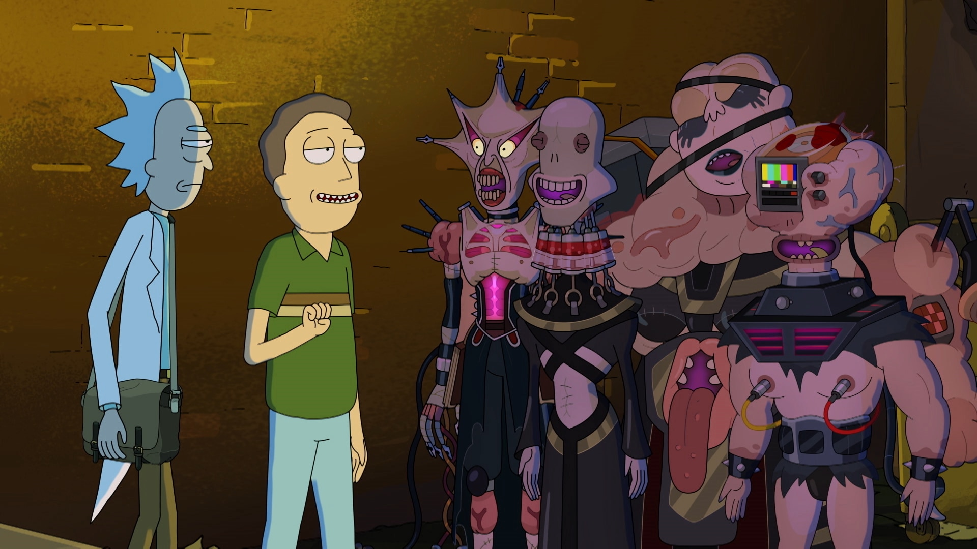 Rick Morty In The Eternal Nightmare Machine Rick And Morty